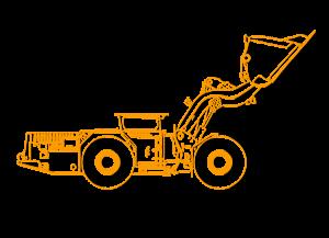 Погрузочно-доставочная машина (ПДМ)
